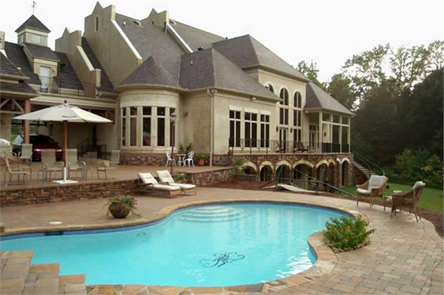 EXTERIOR PHOTO of this 5-Bedroom,6079 Sq Ft Plan -6079