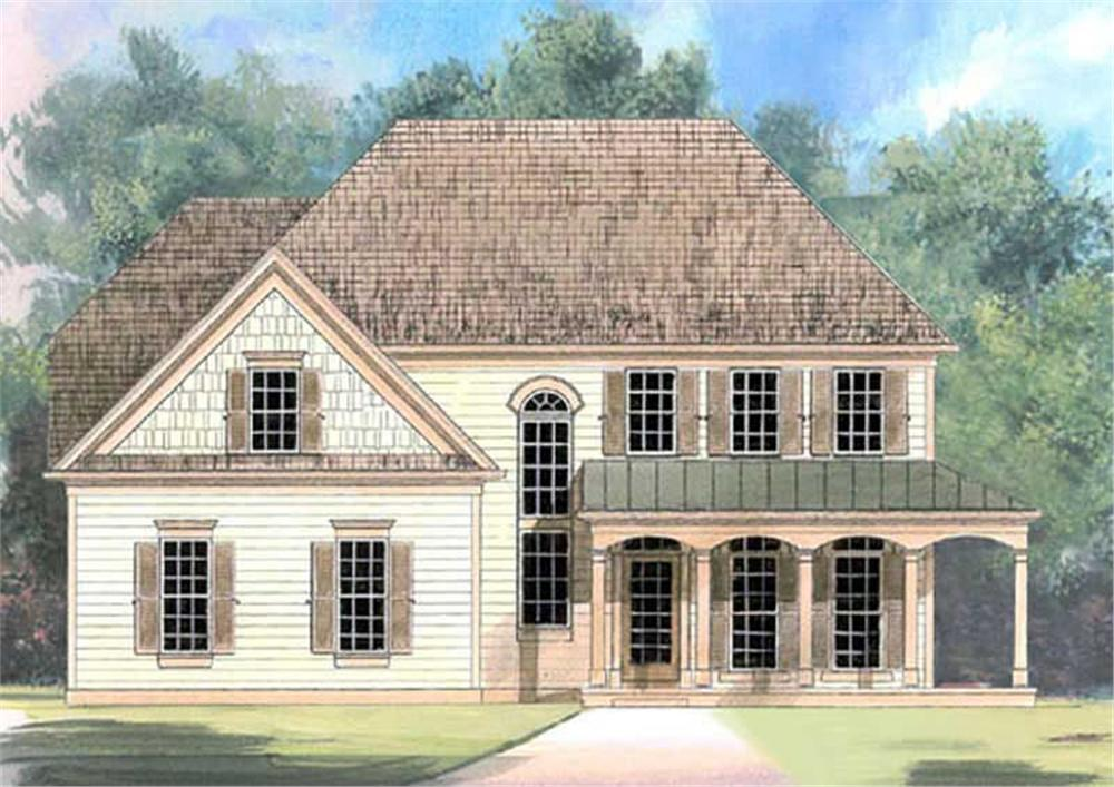Main image for house plan # 15811