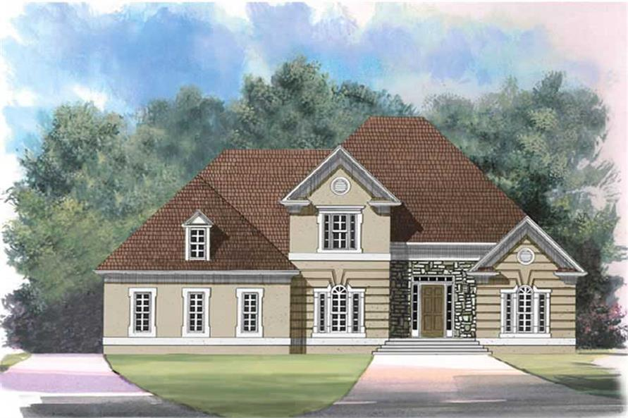 Main image for house plan # 15844