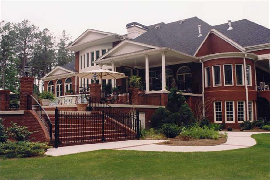 Home Exterior Photograph of this 5-Bedroom,6095 Sq Ft Plan -106-1223