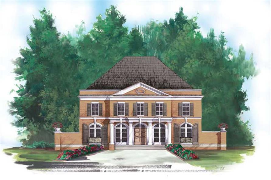 Main image for house plan # 15929