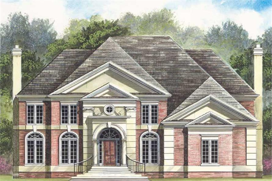 Main image for house plan # 15917
