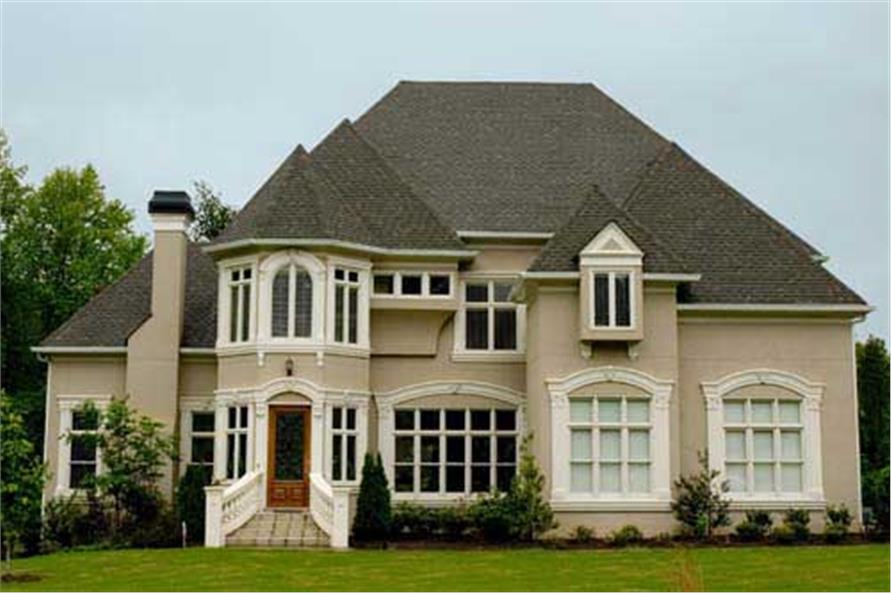 4-Bedroom, 3966 Sq Ft European Home Plan - 106-1237 - Main Exterior