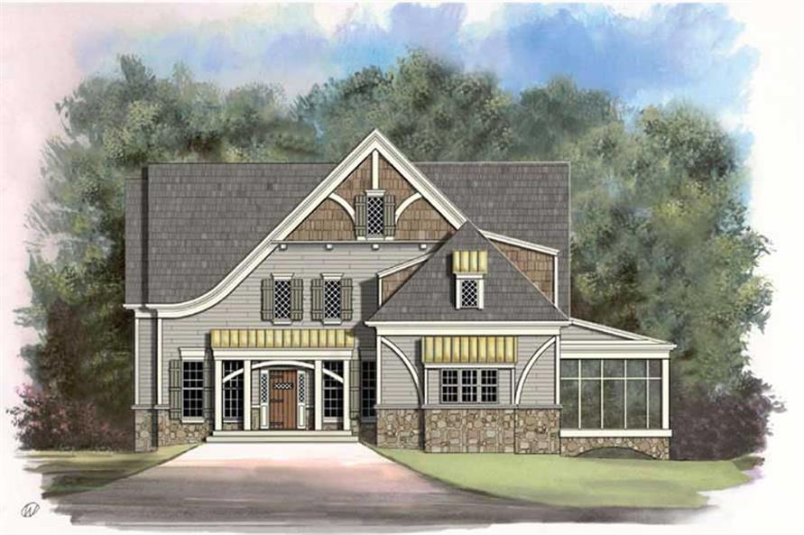 Main image for house plan # 15920