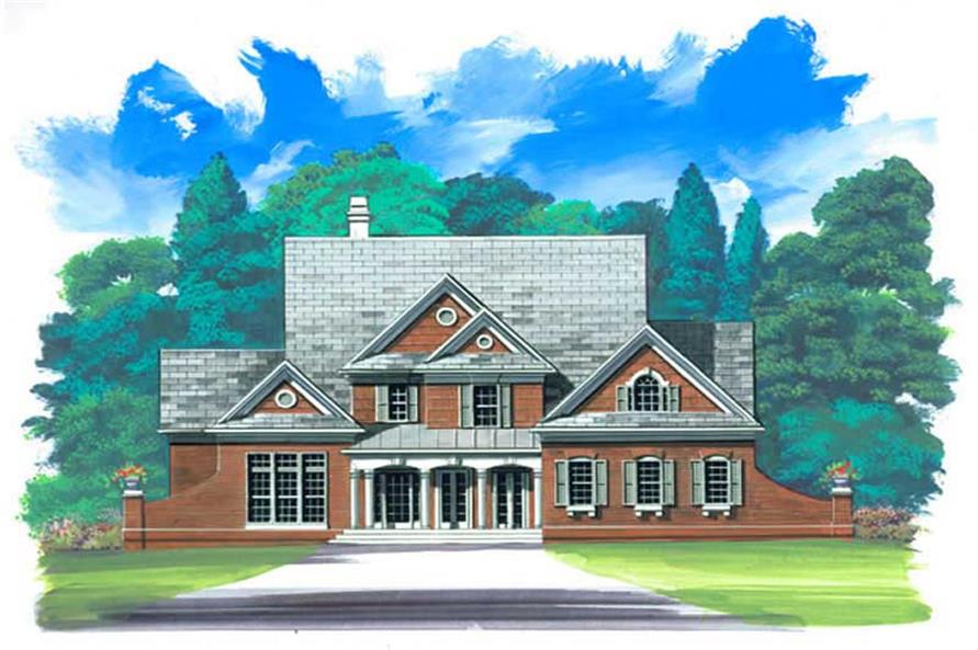 Main image for house plan # 15889