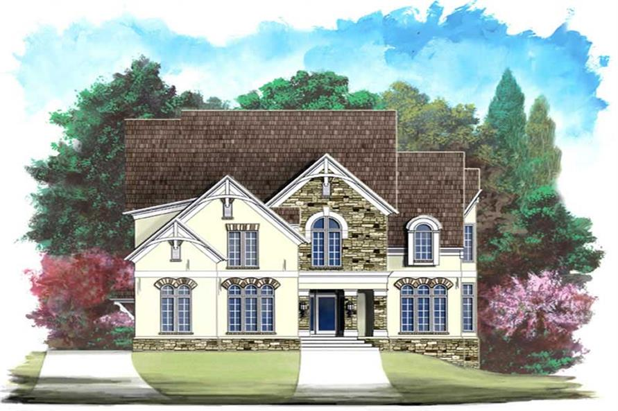 Main image for house plan # 15909