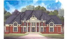 Main image for luxury house plan # 17692
