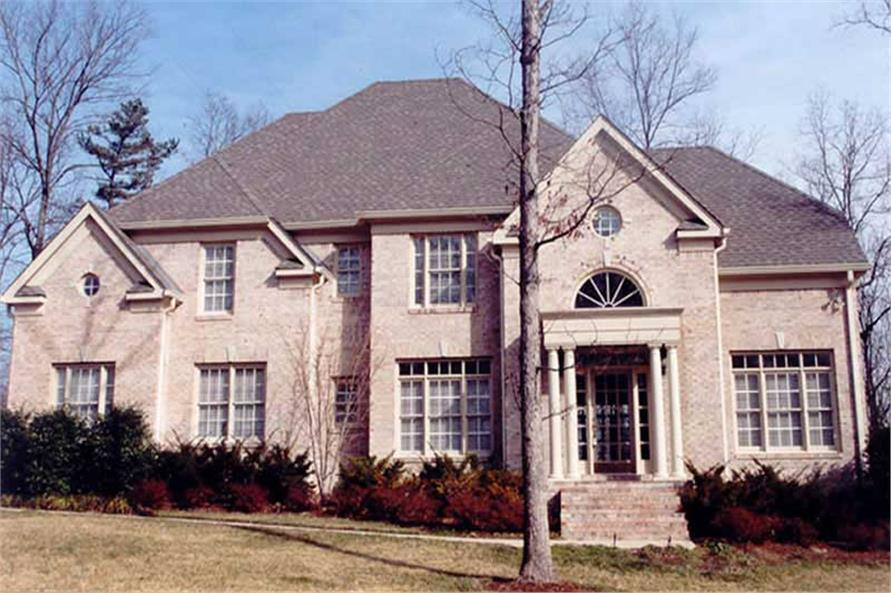 4-Bedroom, 2520 Sq Ft European Home Plan - 106-1268 - Main Exterior