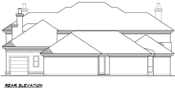 106-1273 house plan rear