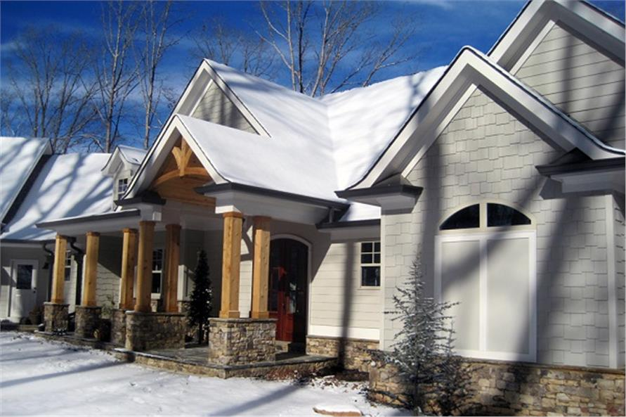 Porch of this 3-Bedroom,2499 Sq Ft Plan -2499
