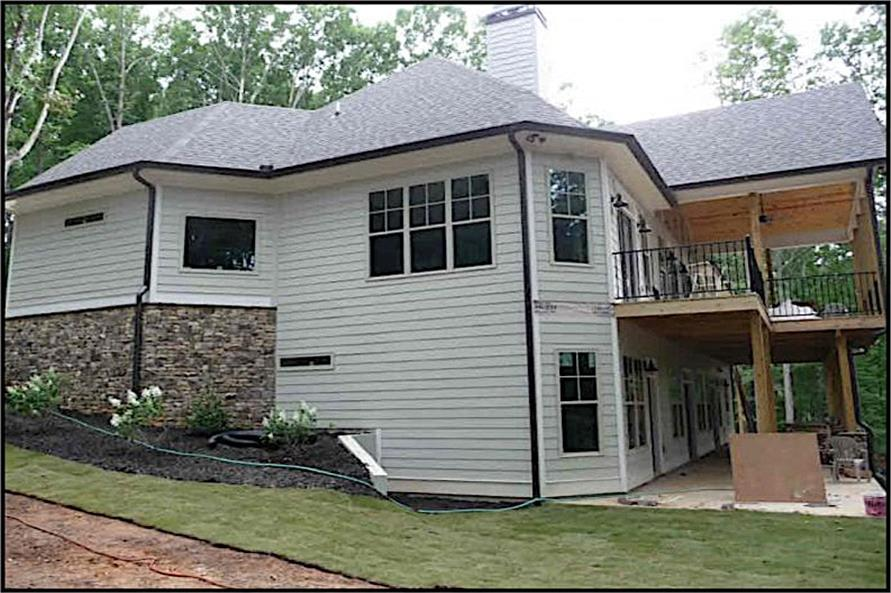 Right Side View of this 3-Bedroom,2499 Sq Ft Plan -2499