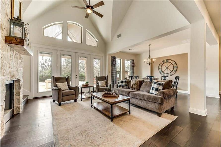 Great Room of this 3-Bedroom,2499 Sq Ft Plan -2499