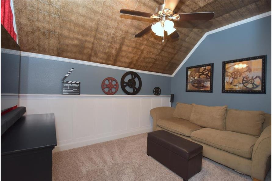 106-1274: Home Interior Photograph-Media Room