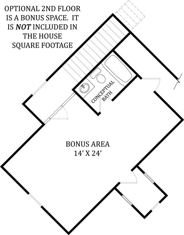 106-1275: Floor Plan Bonus Room