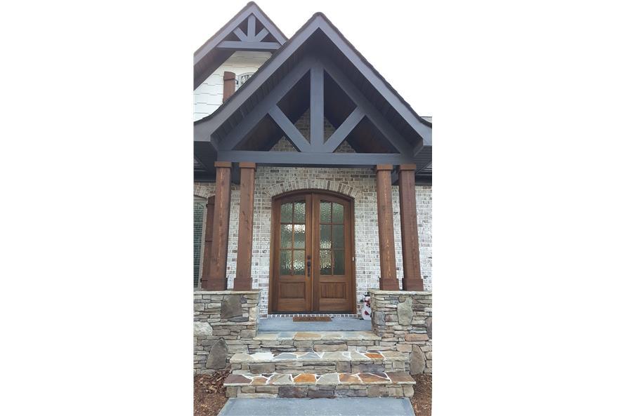 Front Door of this 3-Bedroom,2404 Sq Ft Plan -2404