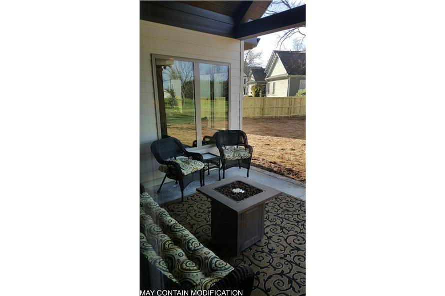 Patio of this 3-Bedroom,2404 Sq Ft Plan -2404