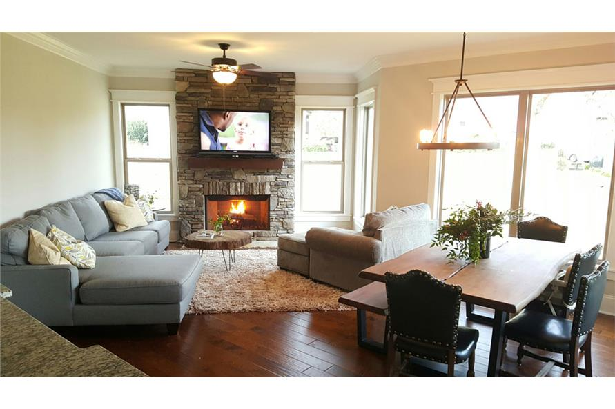 Hearth Room of this 3-Bedroom,2404 Sq Ft Plan -2404