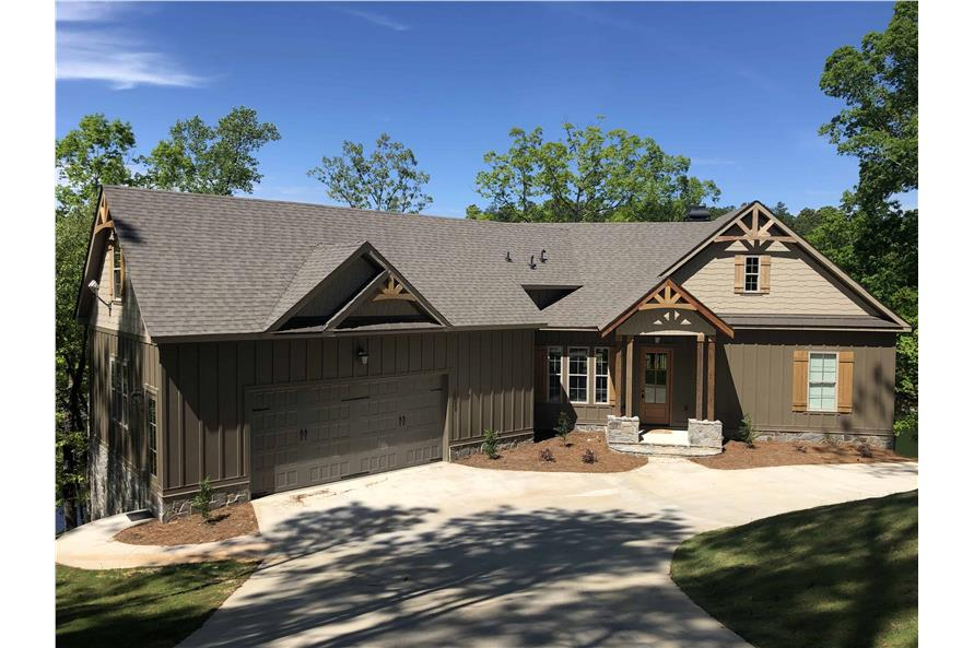 Front View of this 3-Bedroom,2344 Sq Ft Plan -106-1276