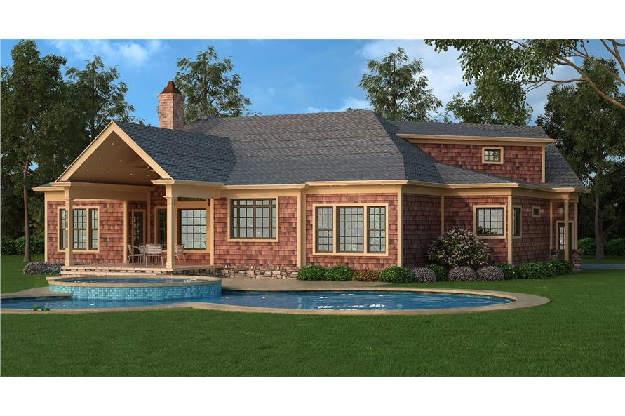 Home Plan Rendering of this 3-Bedroom,2344 Sq Ft Plan -2344