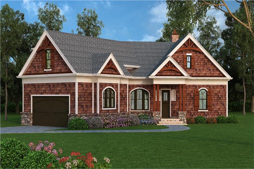 106-1276: Home Plan Rendering