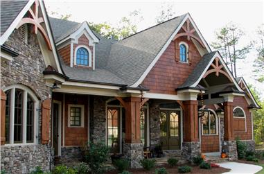 Gorgeous photo of this Craftsman home plan (House Plan #106-1276) | ThePlanCollection