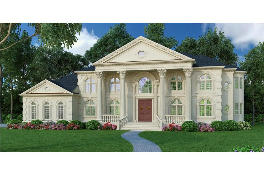 106-1278: Home Plan Rendering