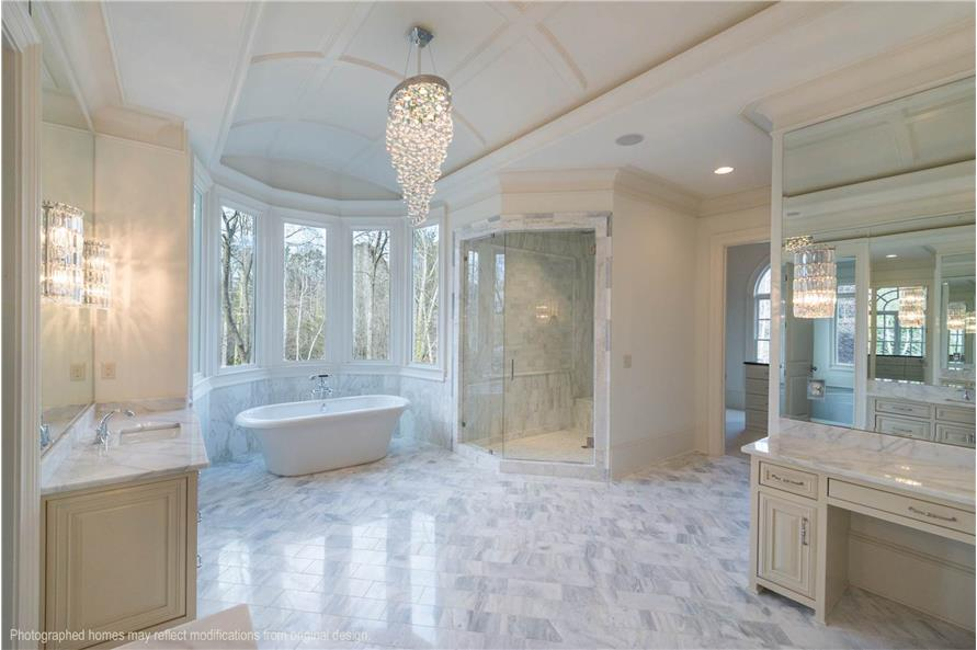 Master Bathroom of this 5-Bedroom,5699 Sq Ft Plan -5699
