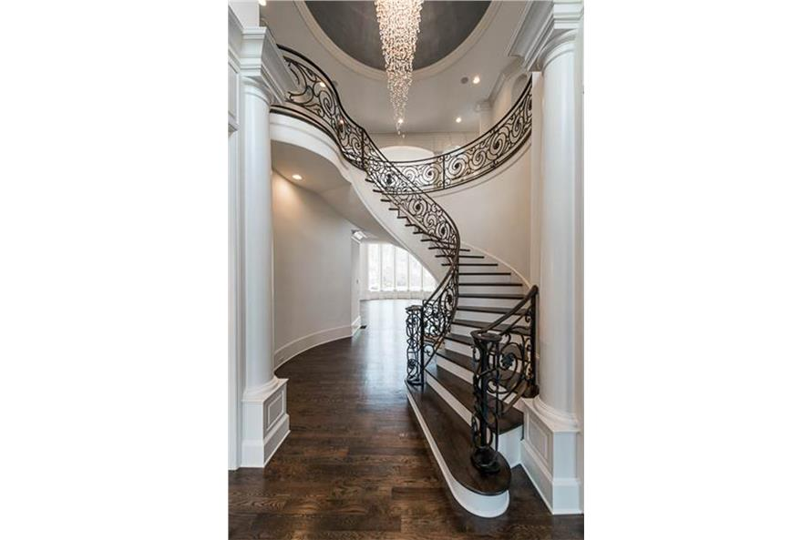 Entry Hall: Staircase of this 5-Bedroom,5699 Sq Ft Plan -5699