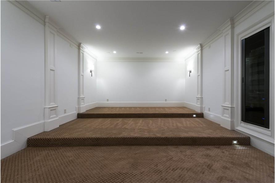 106-1278: Home Interior Photograph-Media Room