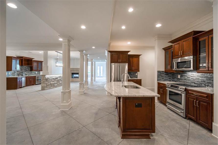 106-1278: Home Interior Photograph-Kitchen