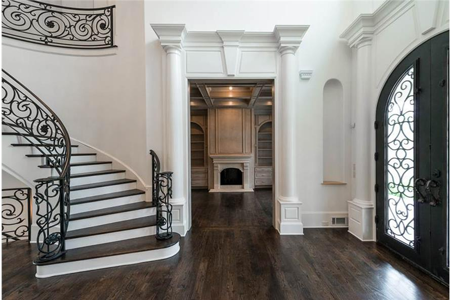 Entry Hall: Foyer of this 5-Bedroom,5699 Sq Ft Plan -5699