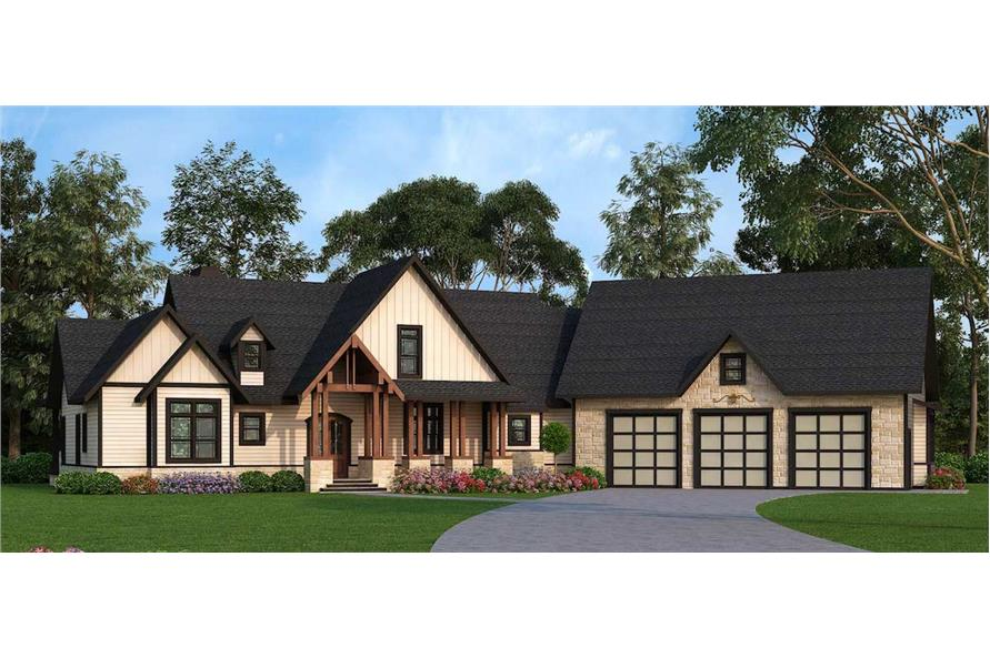 106-1279: Home Plan Rendering