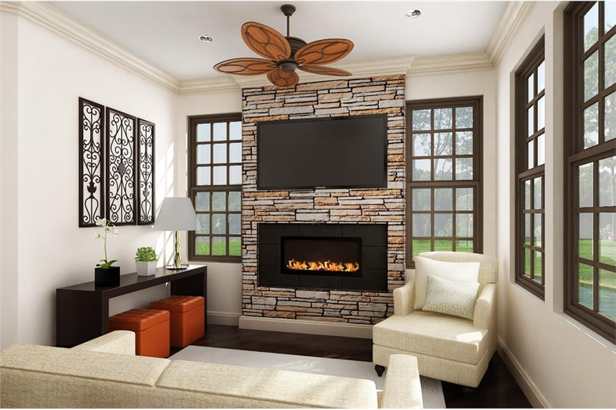 Hearth Room of this 3-Bedroom,2430 Sq Ft Plan -2430