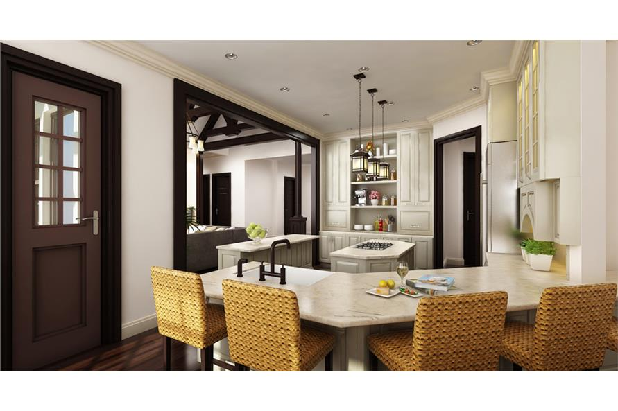 Kitchen of this 3-Bedroom,2430 Sq Ft Plan -2430