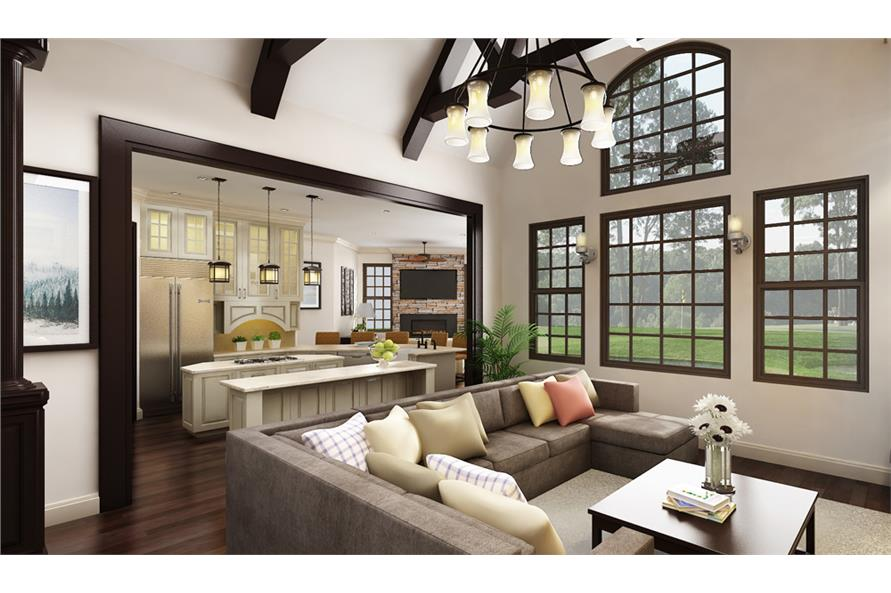 Great Room of this 3-Bedroom,2430 Sq Ft Plan -2430