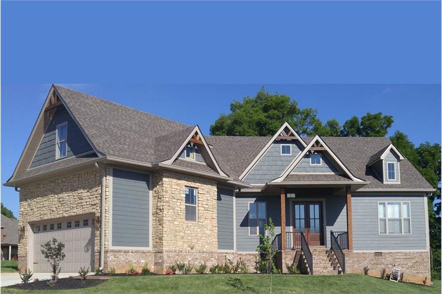 ranch house plan #106-1281: 3 bedrm, 2430 sq ft home plan
