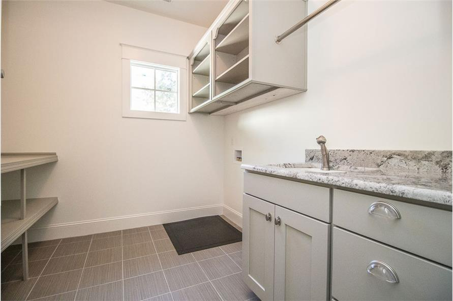 106-1282: Home Interior Photograph-Laundry Room