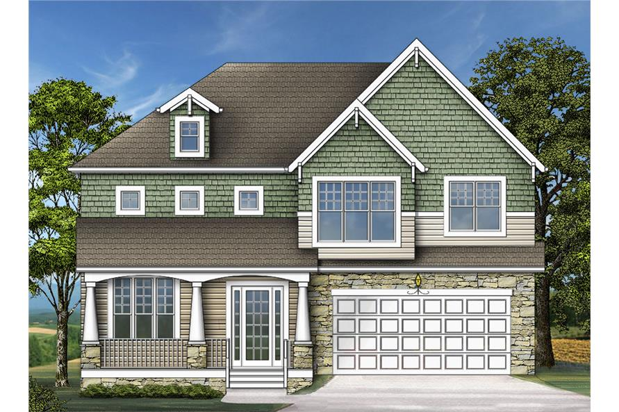 106-1282: Home Plan Rendering