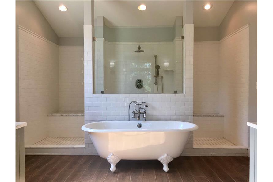 Master Bathroom: Tub of this 3-Bedroom,2531 Sq Ft Plan -2531