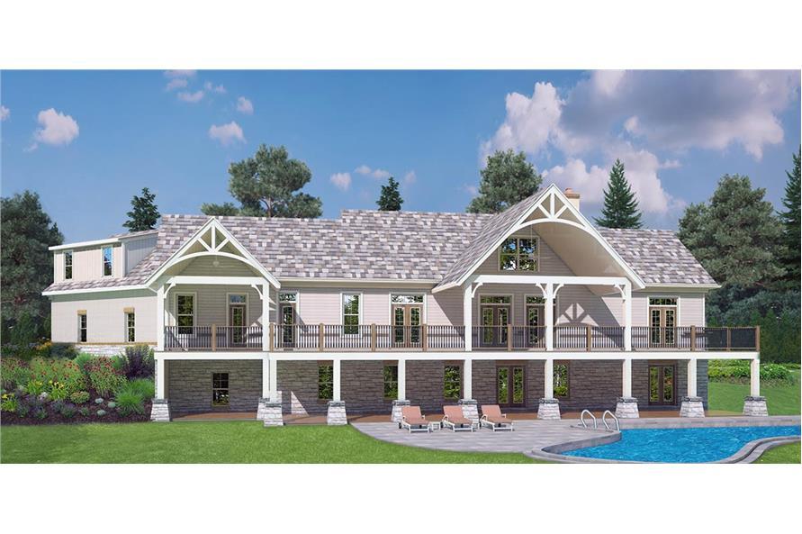 106-1283: Home Plan Rendering