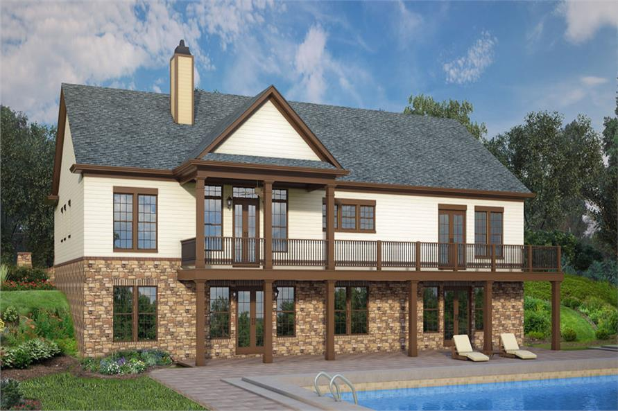 106-1286: Home Plan 3D Image