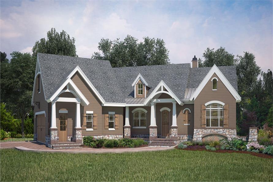 106-1286: Home Plan Rendering