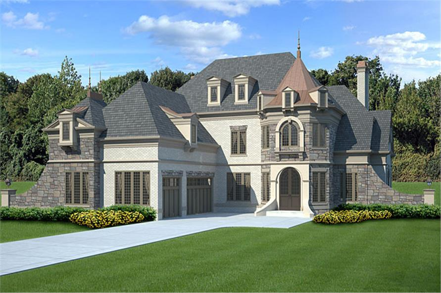 Luxury house plan 106 1288 4 bedrm 3376 sq ft home for Luxury french country house plans