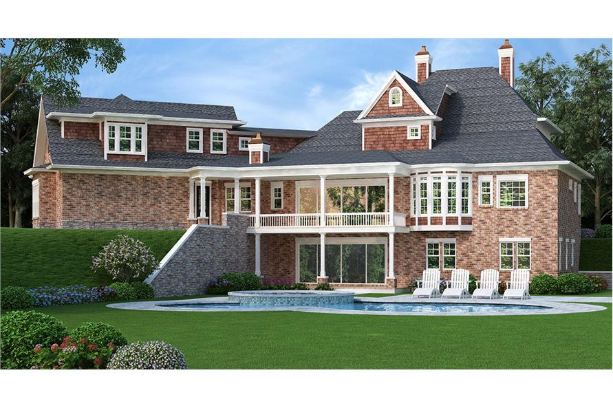 Pool of this 4-Bedroom,3041 Sq Ft Plan -3041