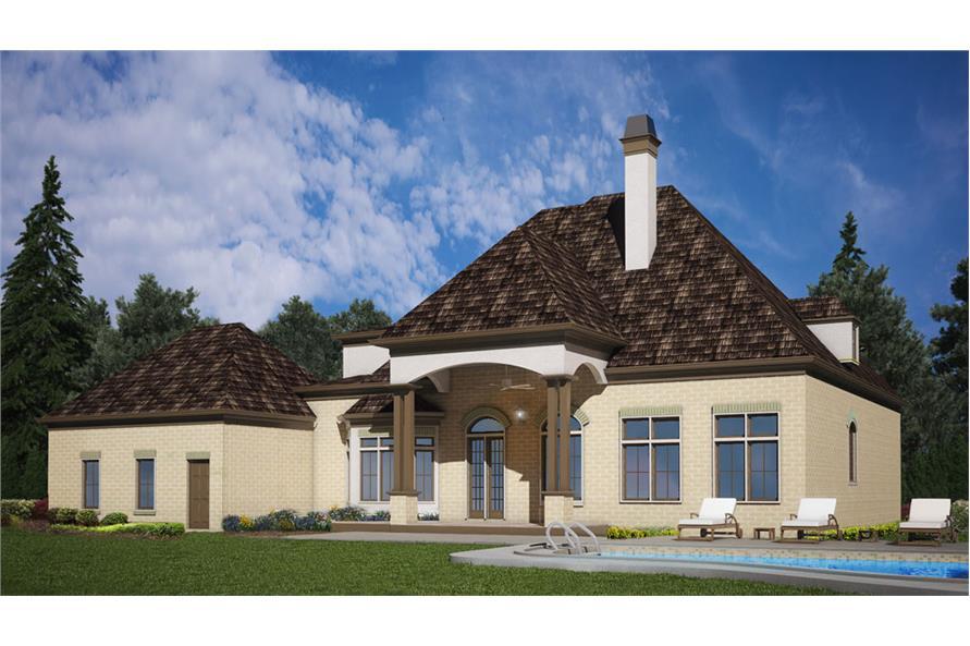 106-1291: Home Plan Rendering
