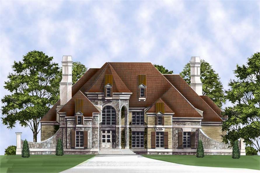 106-1293: Home Plan Rendering