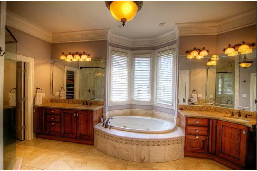Master Bathroom of this 5-Bedroom,4140 Sq Ft Plan -4140
