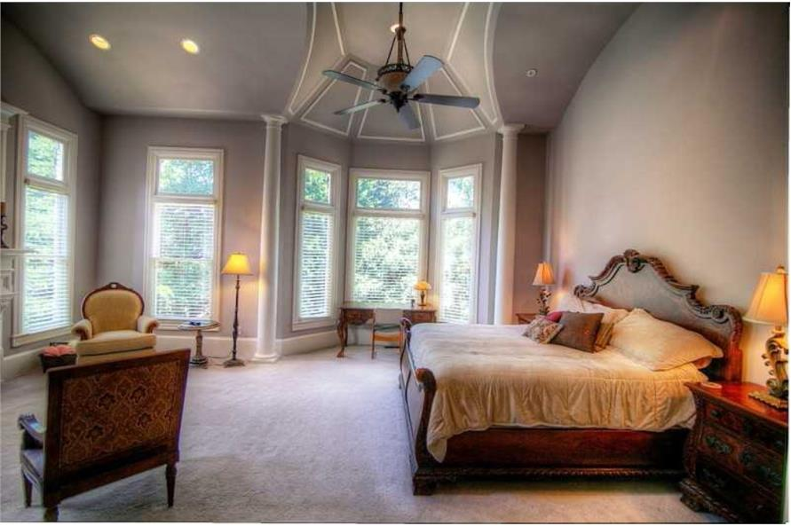 Master Bedroom of this 5-Bedroom,4140 Sq Ft Plan -4140