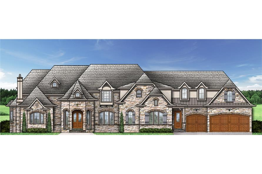 106-1294: Home Plan Rendering