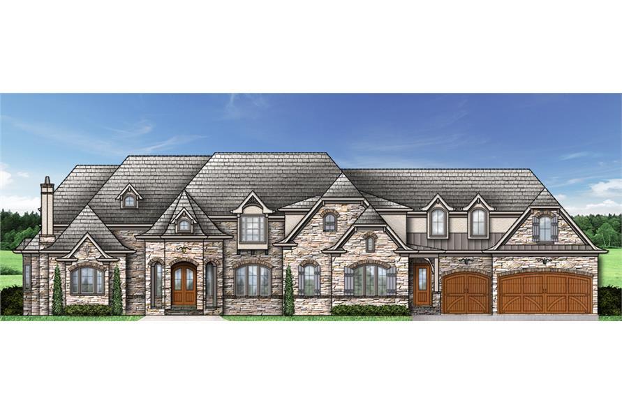 106-1294: Home Plan Rendering